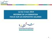 presentation reforme formation forum rh