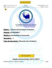 Fichier PDF resumer les cours economie et organeser 1
