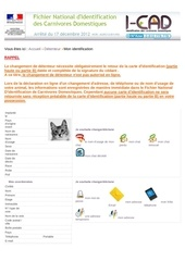 Fichier PDF carte identification