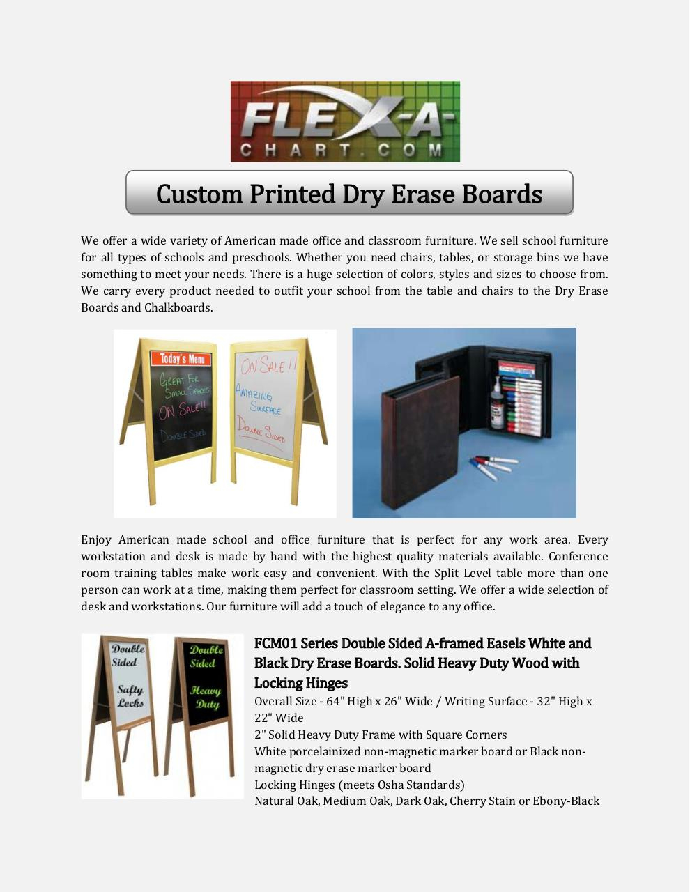 Custom Printed Dry Erase Boards.pdf - page 1/2