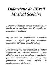 Fichier PDF didactique de l eveil musical scolaire premiere approche