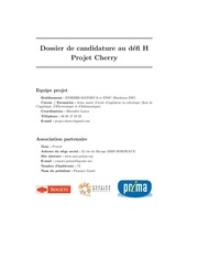 dossier candidature cherry