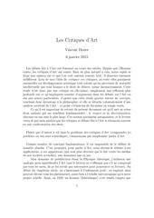 Fichier PDF les critiques d art 1