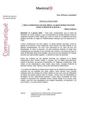 Fichier PDF communique attentat charlie hebdo