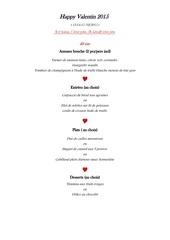 Fichier PDF menu st valentin 2015
