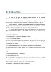 coencidences 2