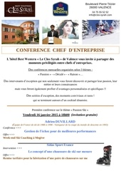 invitation conference du 16 janvier 1