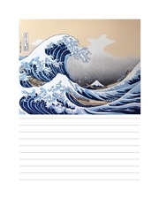 la grande vague d hokusae