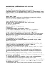 reglement grand tournoi mario kart 8 wii