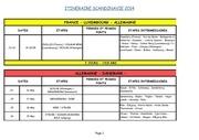 scandinavie 2014 nos etapes en detail