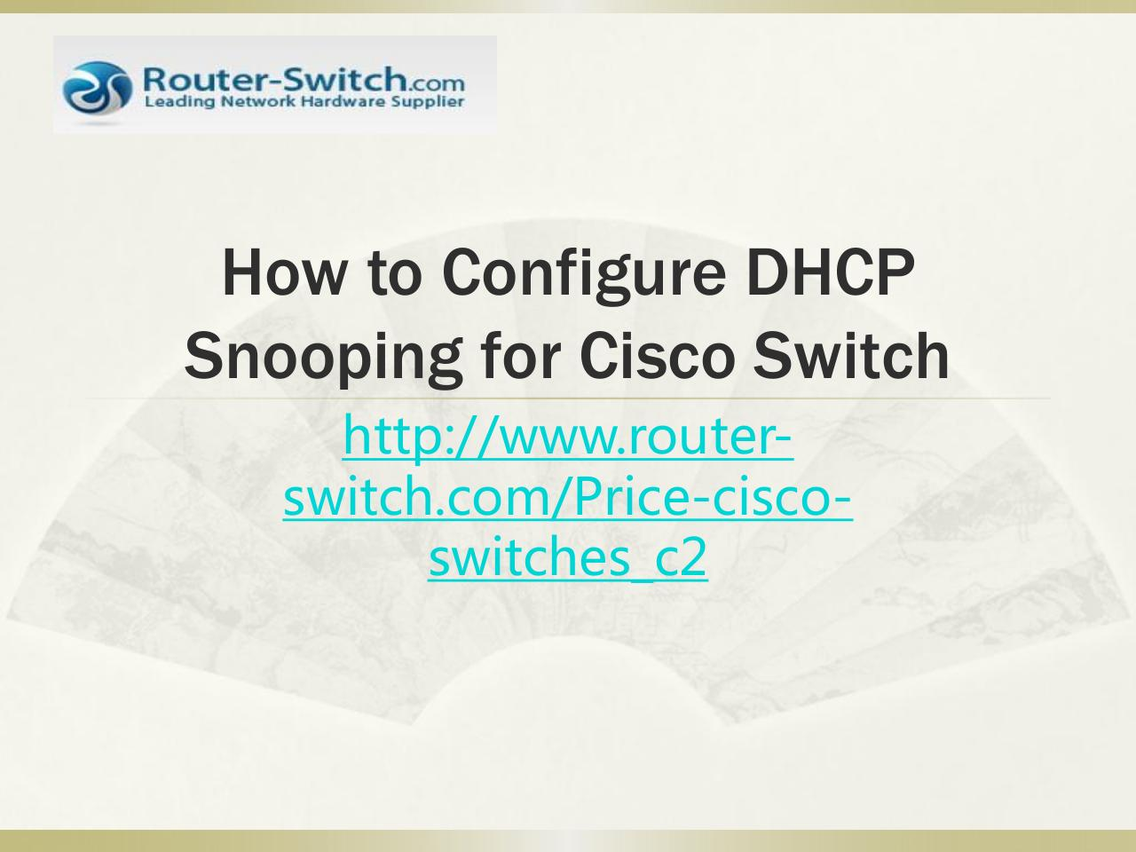 How to Configure Cisco Switches Step by Step