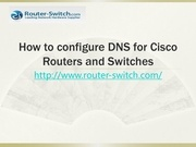 configure dns for cisco