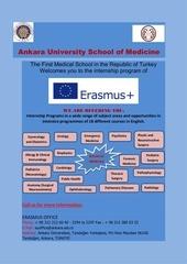 erasmus internship in ankara university school of medicine