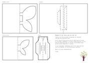 Fichier PDF papillon en pop up