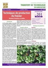 btt 201 culture fraisier