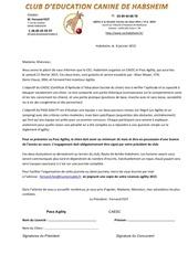 Fichier PDF lettre caesc et pass agility