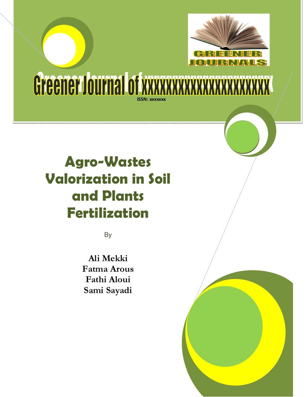 Agro-Wastes Valorization in Soil and Plants Fertilization..pdf - page 1/12