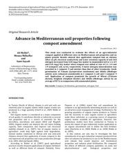 ali mekki soil properties improvement following