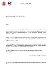 Fichier PDF convocation anglais