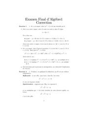 corrige examen final