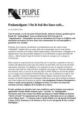 fr charliehebdo padamalgam150110