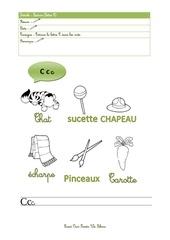 Fichier PDF lecture lettre c