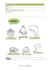 Fichier PDF lecture lettre d