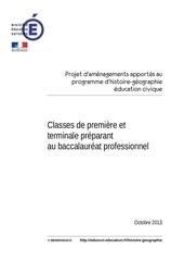 Fichier PDF modif prog 1ere bac hg