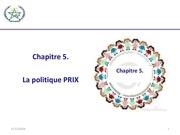 Fichier PDF politique de prix