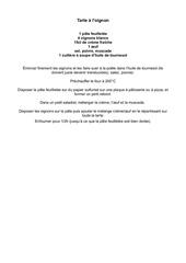 Fichier PDF tarte a l oignon
