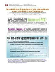 Fichier PDF Etudiants autochtones emploi fonction publique federalutf