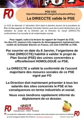 commfo validation du plan social jan2015