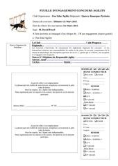 Fichier PDF feuille engagement concours
