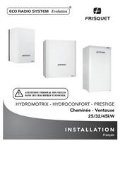 hydromotrix hydroconfort prestige 25 a 45 kw eco