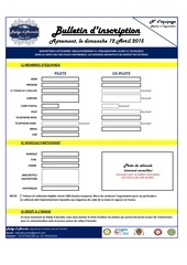 bulletin d inscription rallye d aumale 2015 chantilly
