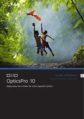 dxo opticspro 10 guide utilisateur