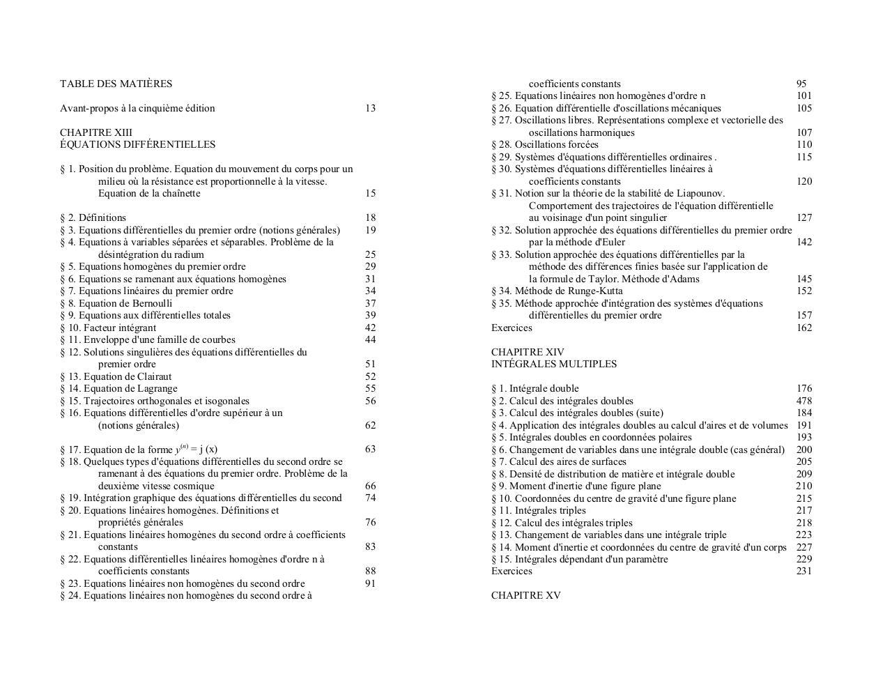 piskounov tome 1 pdf