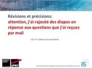 Fichier PDF revisions