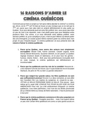 Fichier PDF 16 raisons d aimer le cinema quebecois