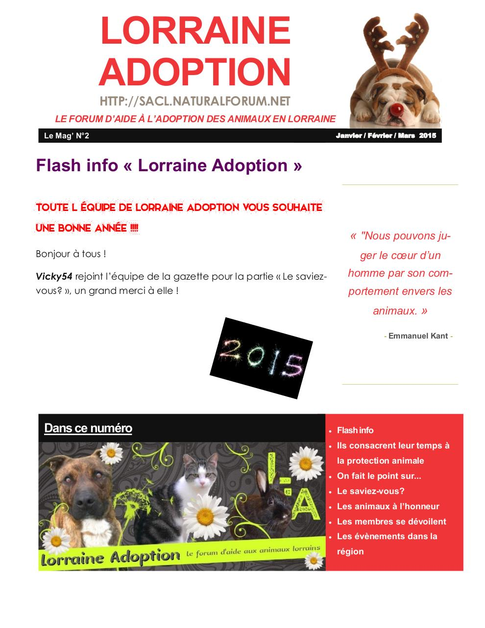 Aperçu du document Gazette Lorraine Adoption 2.pdf - page 1/10
