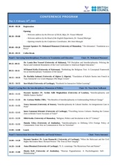 interdisciplinarity conference programme