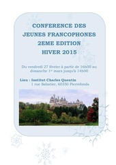 invitation conf rence jeunes francophones