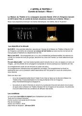 Fichier PDF appel a textes 2015