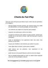 Fichier PDF charte fairplay