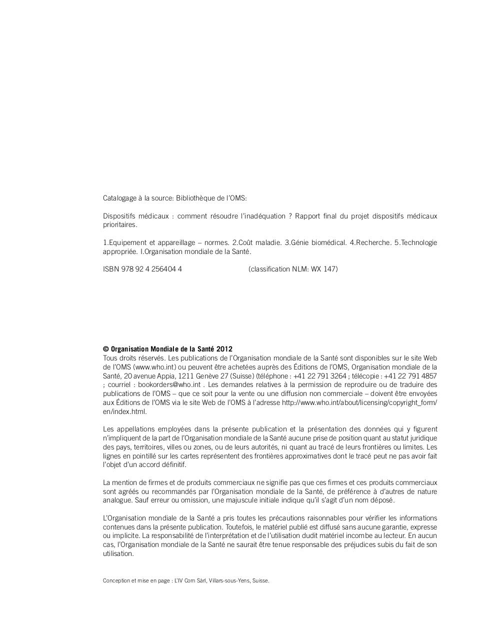 Dispositifs medicaux comment resoudre l'inadequation.pdf - page 4/148