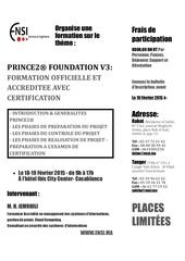 ensi seminaire prince2 foundation