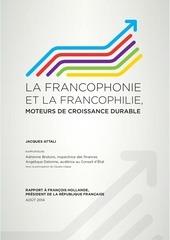 rapport jacques attali la francophonie conomique