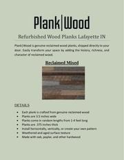 refurbished wood planks lafayette in