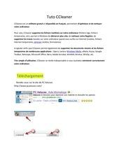 Fichier PDF tuto ccleaner