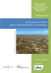 gaz de schiste enjeux environnementaux et economiques
